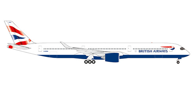 "533126 Airbus A350-1000 ""British Airways"", Herpa Wings"