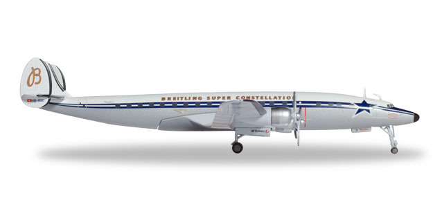 "558488 Lockheed L-1049H S. Constellation ""SCFA/Breitling"", Herpa Wings"