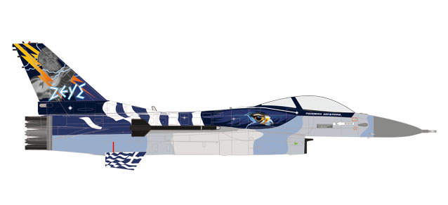 "580380 Lockheed Martin F-16C ""Hellenic Air Force - Zeus Demo Team"", Herpa Wings"