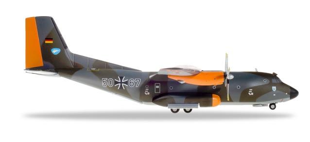 """559560 Transall C-160 """"Luftwaffe LTG 63 Hohn Air Base Norm72"""", Herpa Wings"""