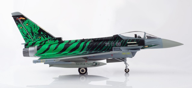 580427 Eurofighter Typhoon Luftwaffe Tiger meet 2018 Ghost Tiger, Herpa Wings
