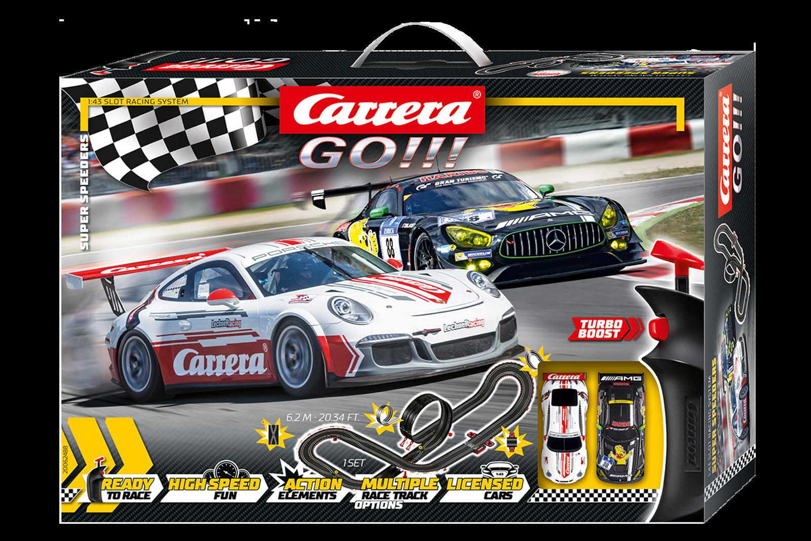 62488 Go!!! Super Speeders, Carrera