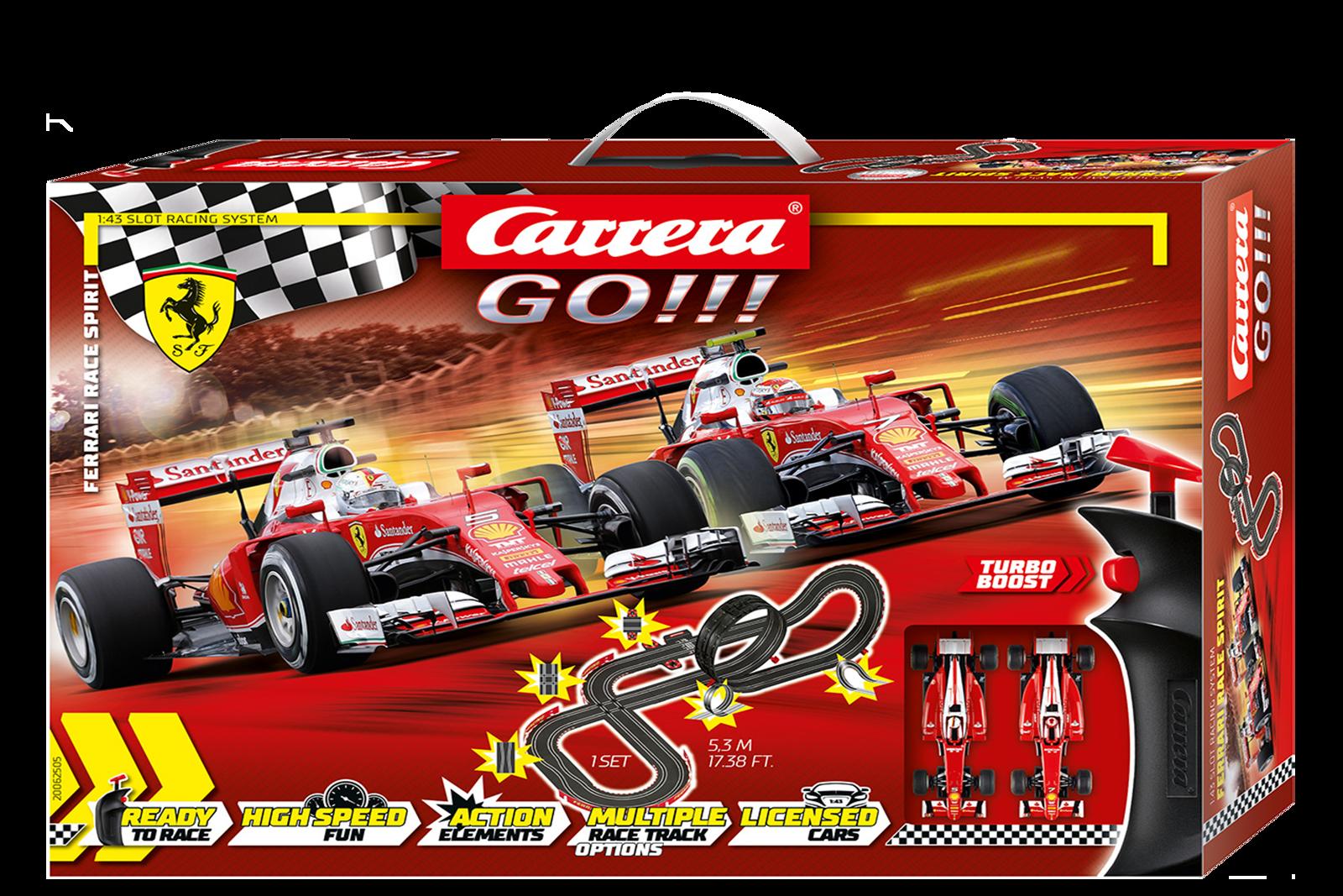 62505 Go!!! Ferrari Race Spirit, Carrera
