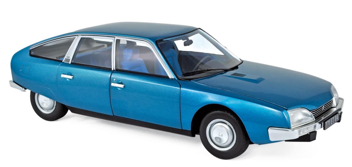 181523 Citroën CX2000 1974, Delta blauw met., Norev