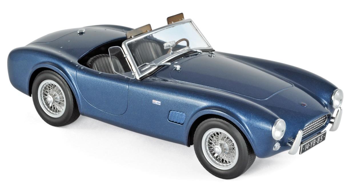 182753 AC Cobra 289 1963, blauw met., Norev