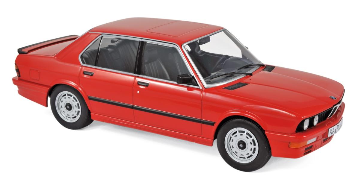 183262 BMW M535i 1986, rood, Norev