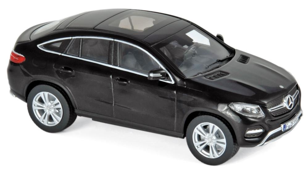 351312 Mercedes-Benz GLE Coupé 2015, zwart, Norev