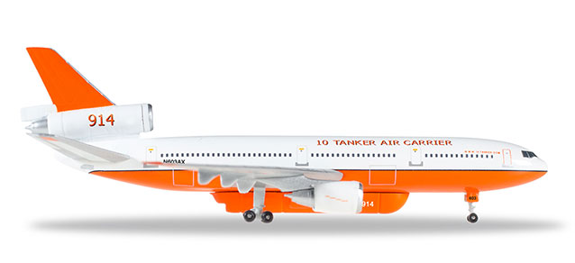 "529082-001 McDonnell Douglas DC-10-30 10 ""Tanker Air Carrier 914"", Herpa Wings"