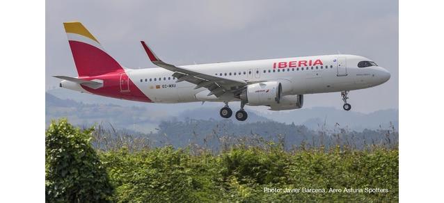 "533027 Airbus A320 neo ""Iberia Patrulla Aguila"", Herpa Wings"
