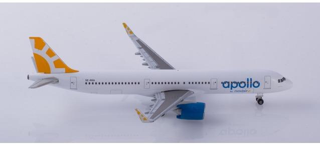 """533065 Airbus A321 neo """"Novair"""", Herpa Wings"""