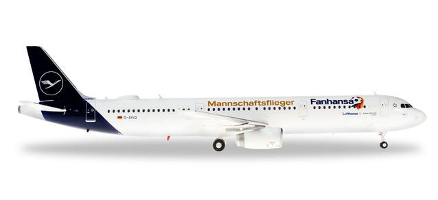 """559416 Airbus A321 """"Lufthansa Fanhansa Lindau"""", Herpa Wings"""