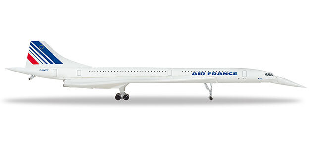"532839 Concorde ""Air France (nose down)"", Herpa Wings"