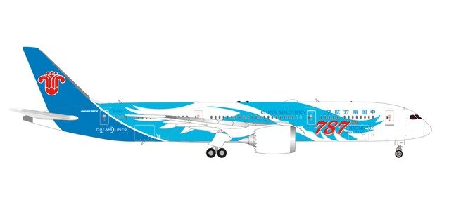 "533300 Boeing 787-9 D. ""China Southern Airlines 787th 787"", Herpa Wings"