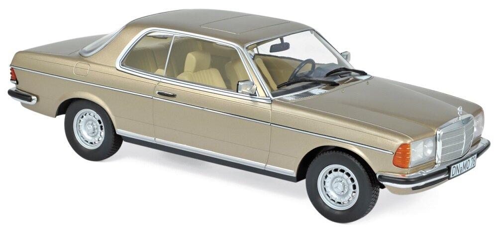 183702 Mercedes-Benz 280 CE 1980, Champagne met., Norev