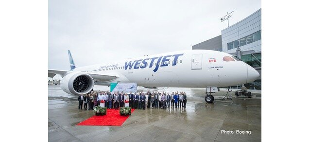 "533256 Boeing 787-9 D. ""Westjet - new colors"", Herpa Wings"