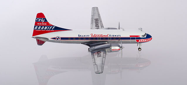 "559621 Convair CV-340 ""Braniff International Airways"", Herpa Wings"
