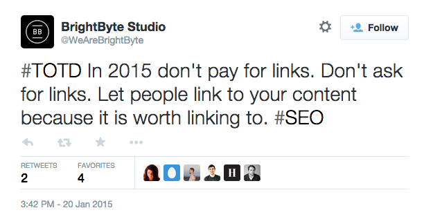 best website design agency to follow on Twitter