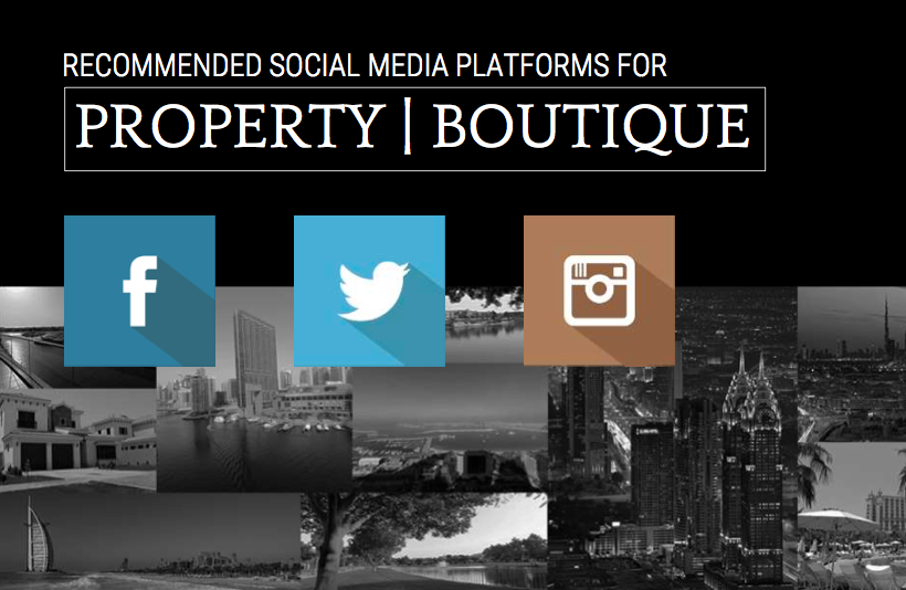 social media strategy for property companies