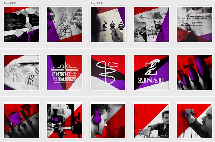 Instagram Strategy for a Branding Agency in Dubai