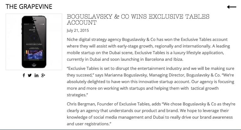 Boguslavsky & Co - digital agency working with startups in Dubai