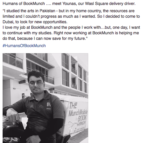 Humans of BookMunch campaign