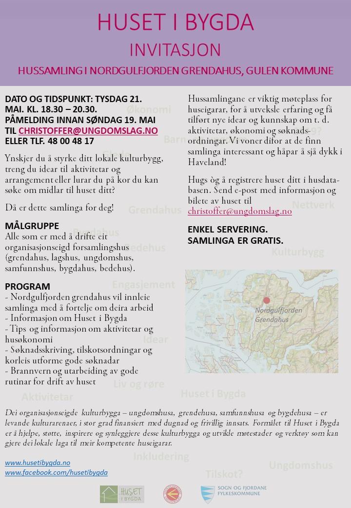 Nyheitsbrev mai 2019 - hussamling Nordgulfjorden Grendahus.jpg