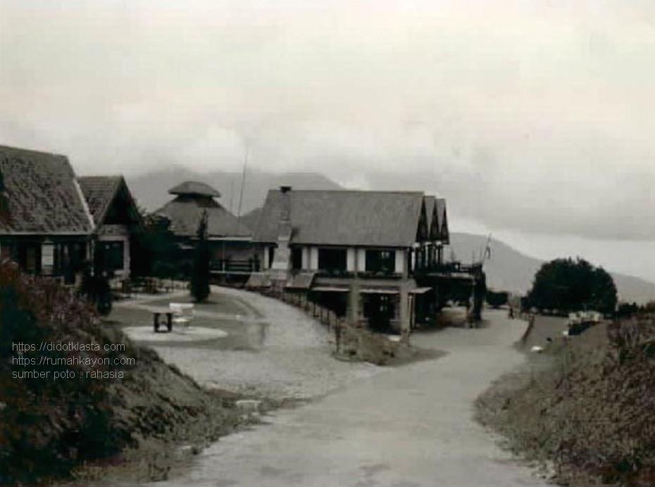 Hotel Kopeng (dilihat dari atas). 1935.