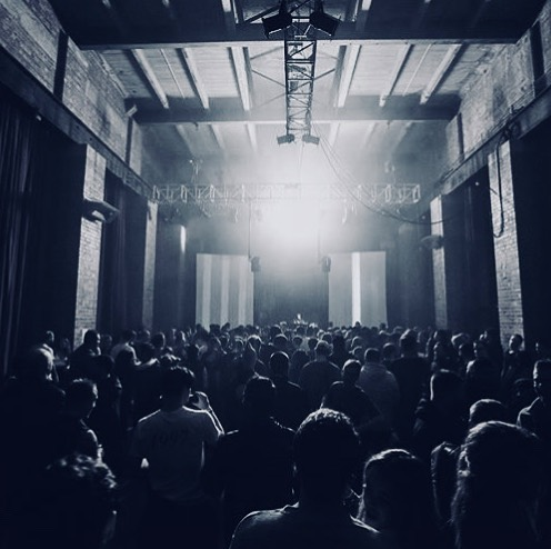 Such an amazing night! @snts_records @bunkermusicmelb @paralleldistortion #technomusic #newportsubstation #technotemple