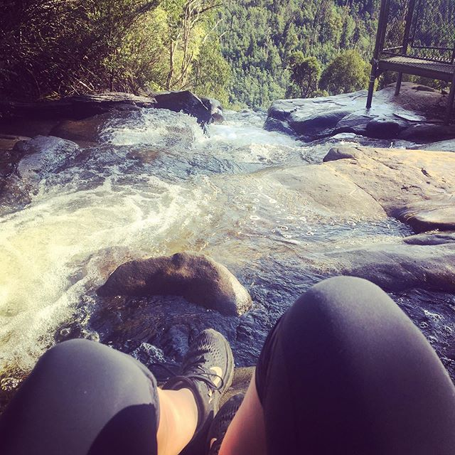 Not a bad start to another lap around the sun #stephensonsfalls #yarravalley #waterfalls