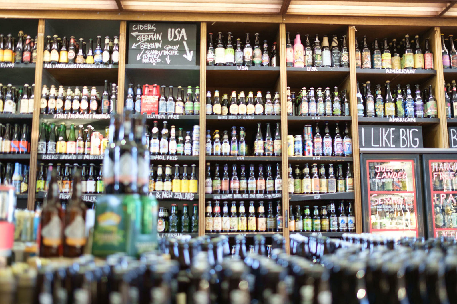Of course, Glasgow's local beer shops make a good case for staying in with a few friends.