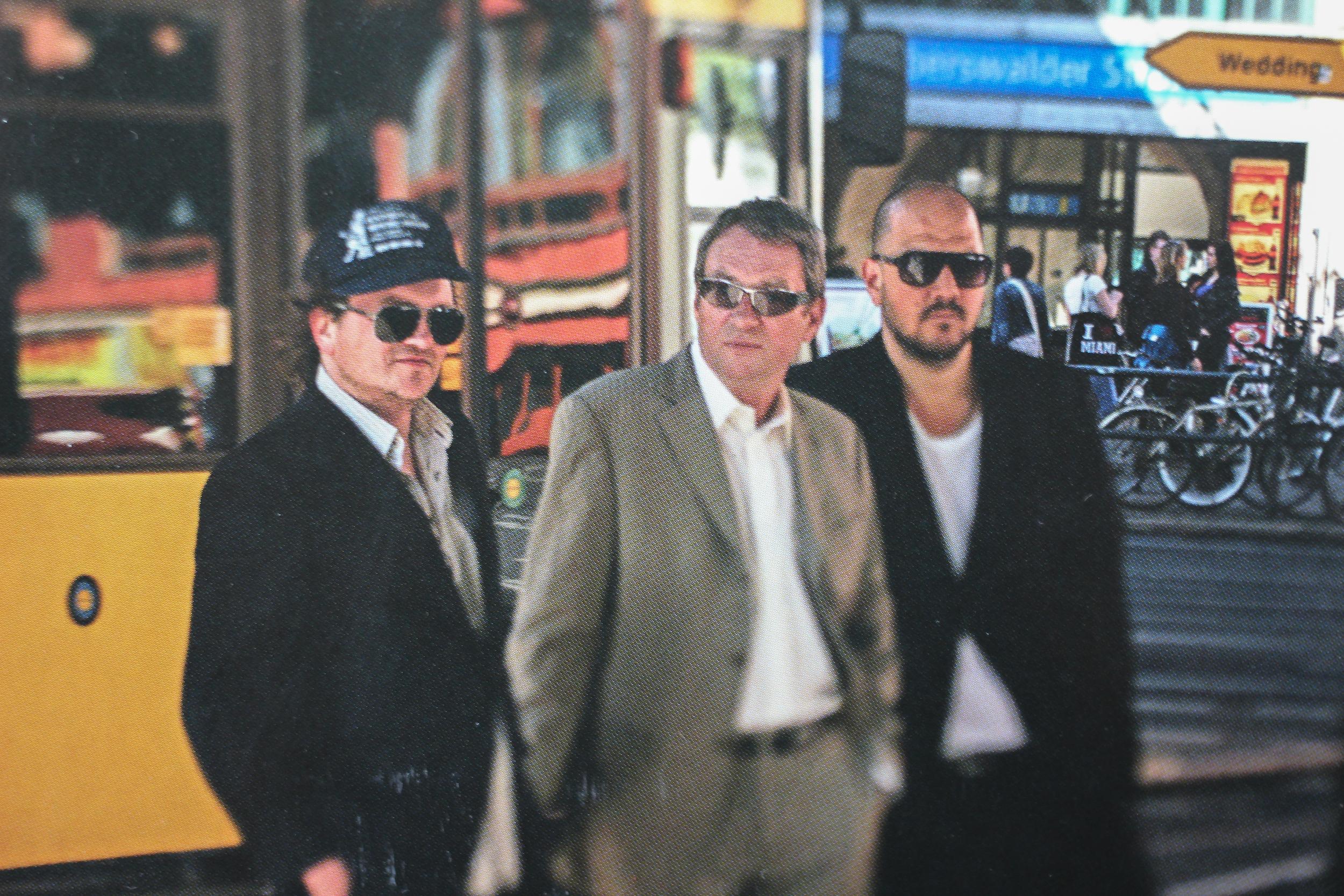 v.li.: Peer Neumann, Hartmut Horst, Stefan Bühler auf dem Cover von Bäng Bäng Bäng