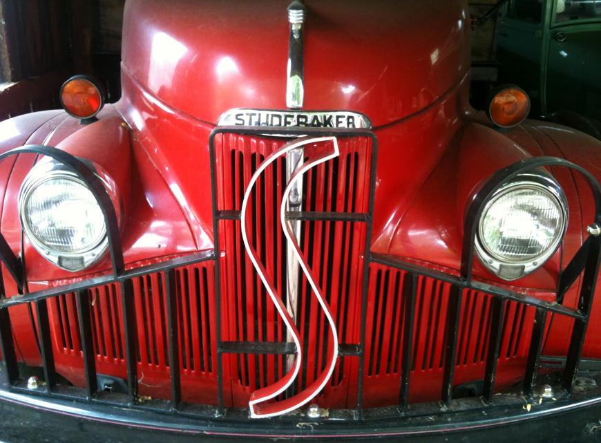 Don's Faible für alte Studebaker ist nicht zu übersehen.
