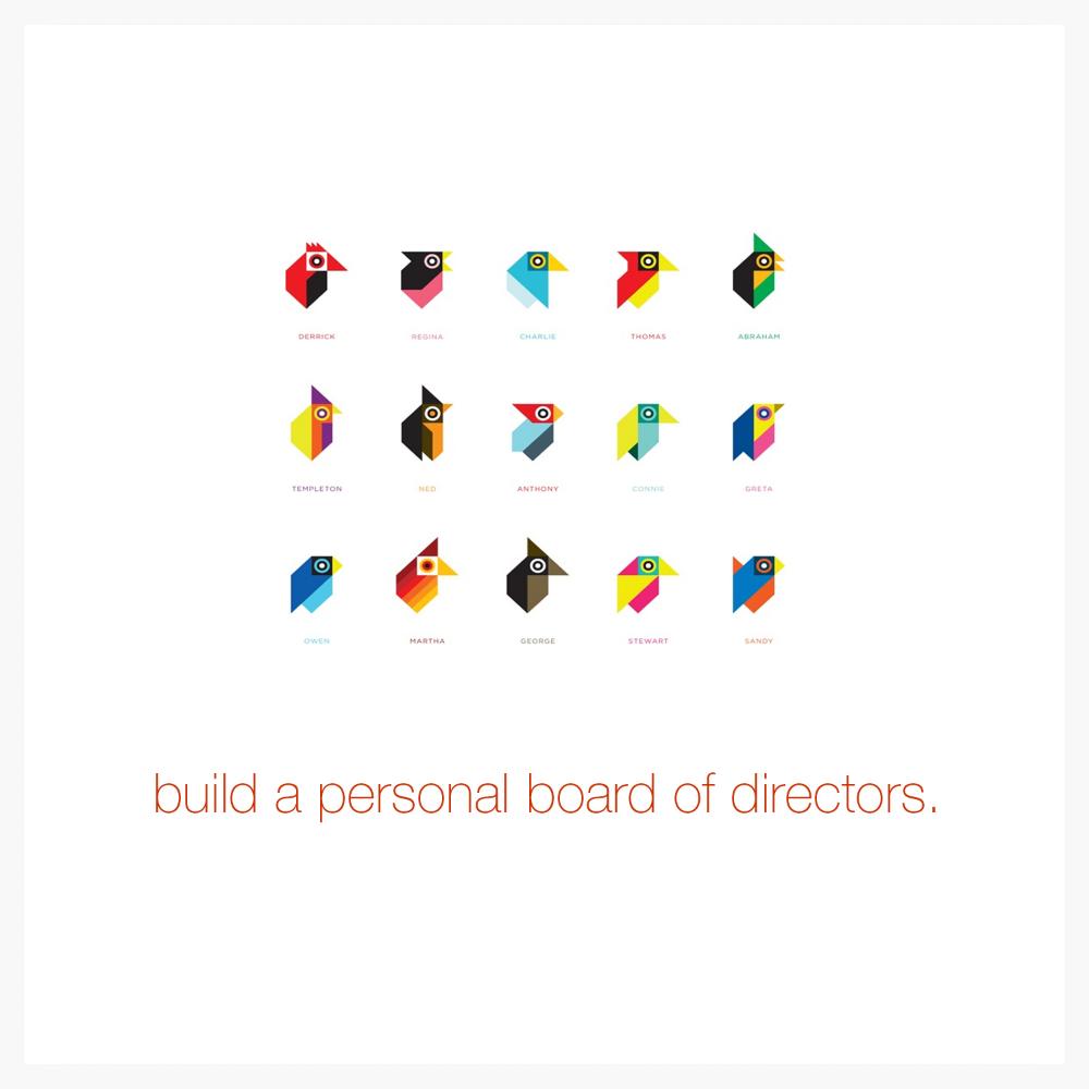 Build a personal board of directors