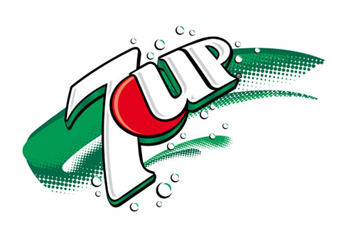 7up can logo design evolution