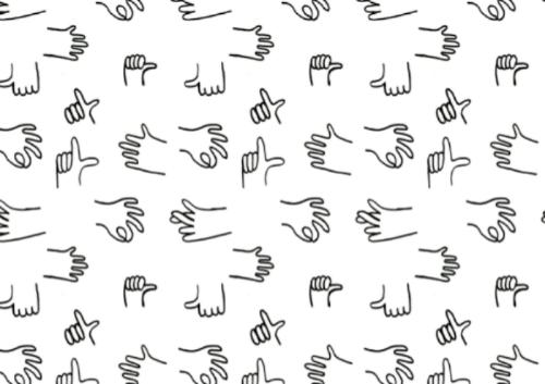 Hands by Saskia Pomeroy