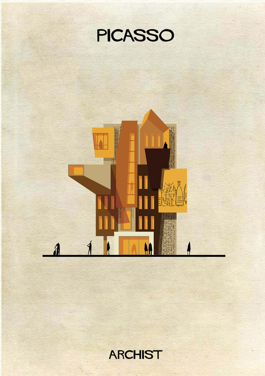 Picasso Art as Architecture