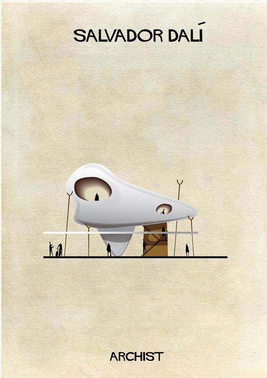 Dali Art as Architecture