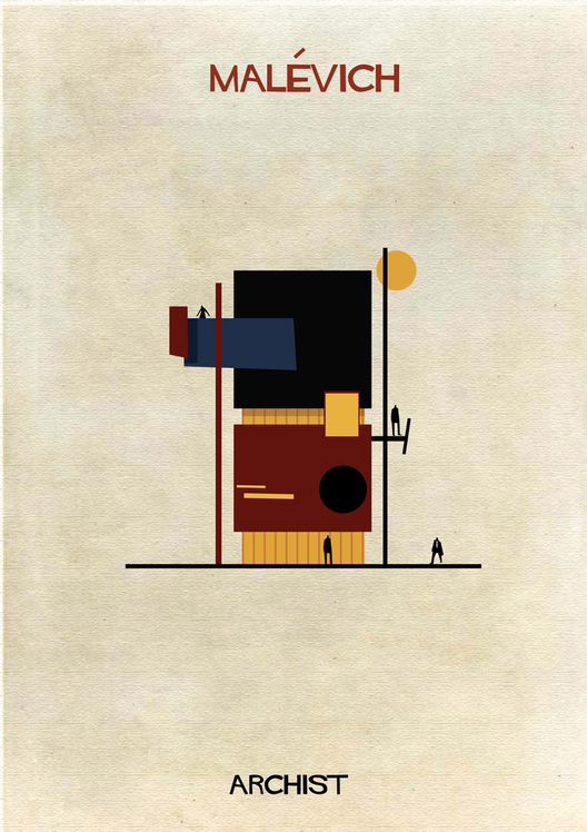 Malevich Art as Architecture