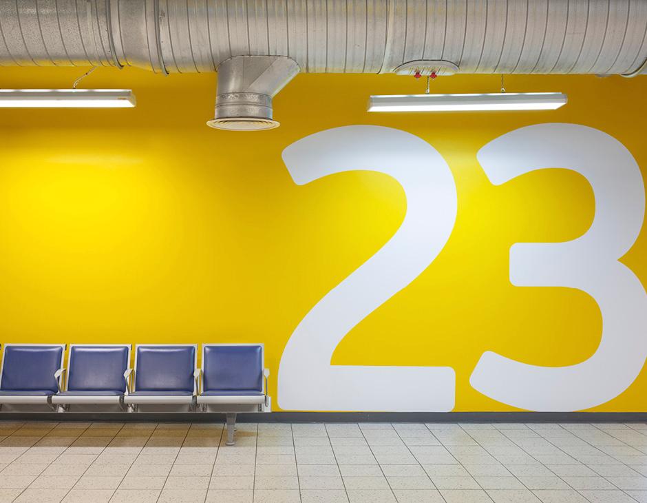 LLA Airport Rebrand by Atipo