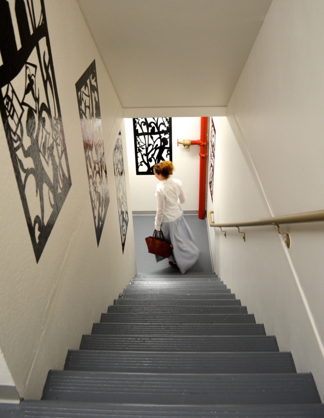art in stairs