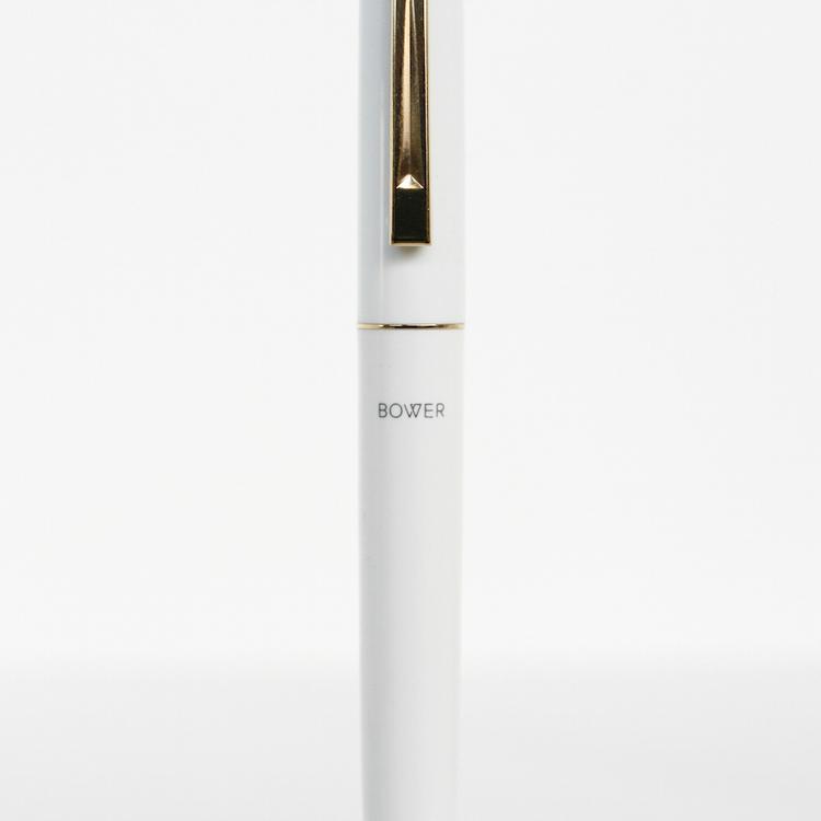 bower tipsy pen