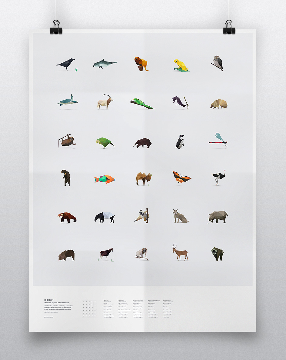 in pieces poster