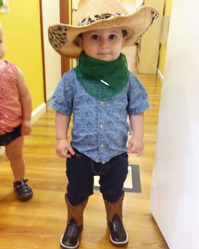 No se si sabias mami but I'm a cowboy