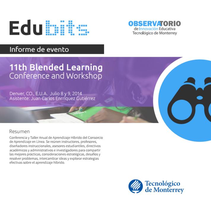Edu Bits Blended Learning Conference 2014
