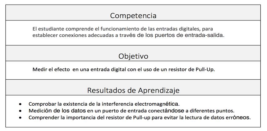 Tabla 1:  Ejemplo de la declaración de una competencia  /  Fuente:  Edu Trends, Feb 2015, pag. 15