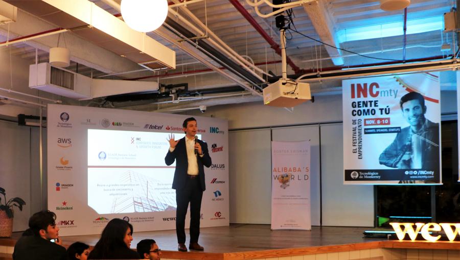 INCmty albergará a más de 300 conferencias, talleres y programas dirigidos a innovadores y emprendedores. Los temas centrales serán la transformación digital y la colaboración. -