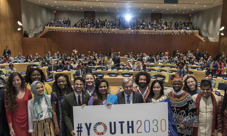La iniciativa Juventud 2030 intenta resolver problemáticas que afectan a los jóvenes como la falta de empleo, carencia de educación, violencia y conflictos armados, cambios climáticos, además de la transformación del mercado laboral. - Imagen: ONU