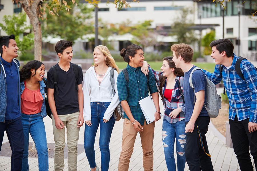Los estudiantes deben estar tan preparados social y emocionalmente como lo están académicamente, sin embargo, muchas escuelas solo se enfocan en lo último. - Foto: FutureSmart