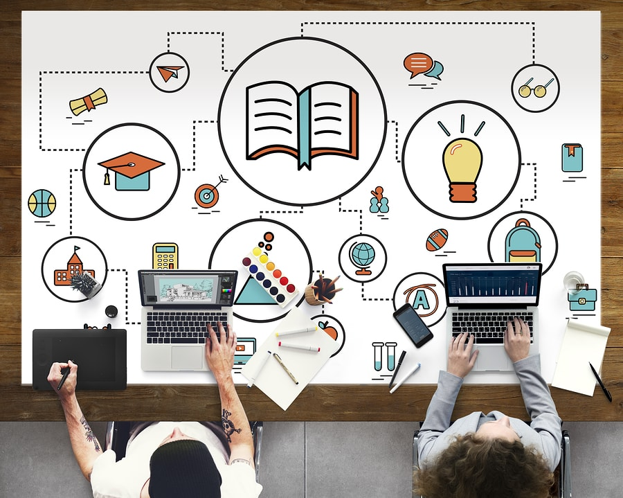 La colección de herramientas OpenSimon contiene una amplia gama de recursos docentes destinados a mejorar la instrucción, además de instrumentos para investigadores y diseñadores de productos de tecnología educativa. - Imagen: Bigstock.