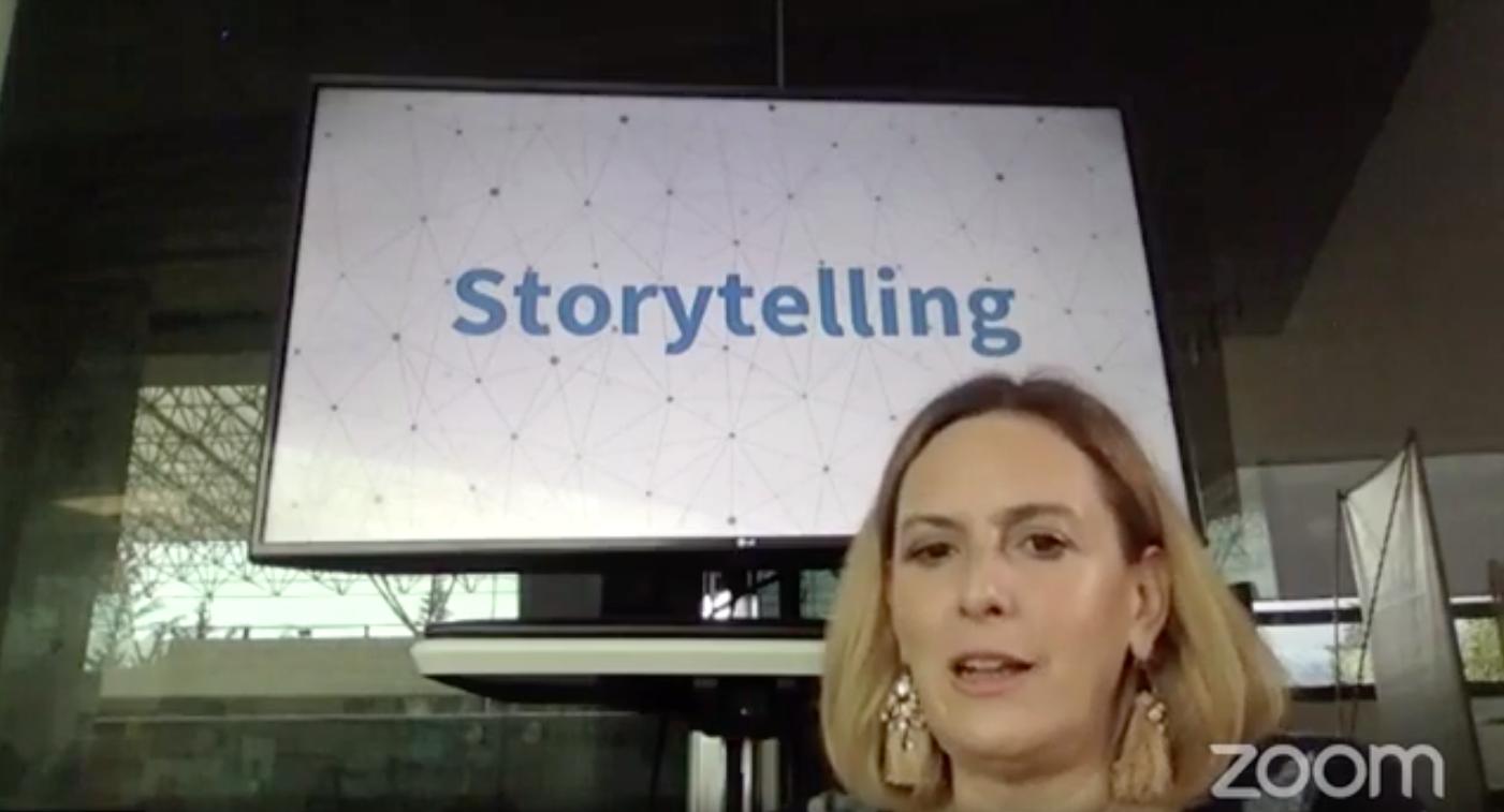 Regina Freyman comparte algunas estrategias narrativas para descubrir que todos podemos ser narradores. -